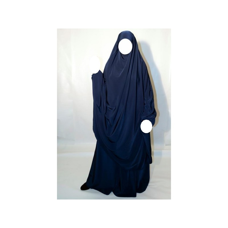Jilbab Al Manassik - Bleu marine