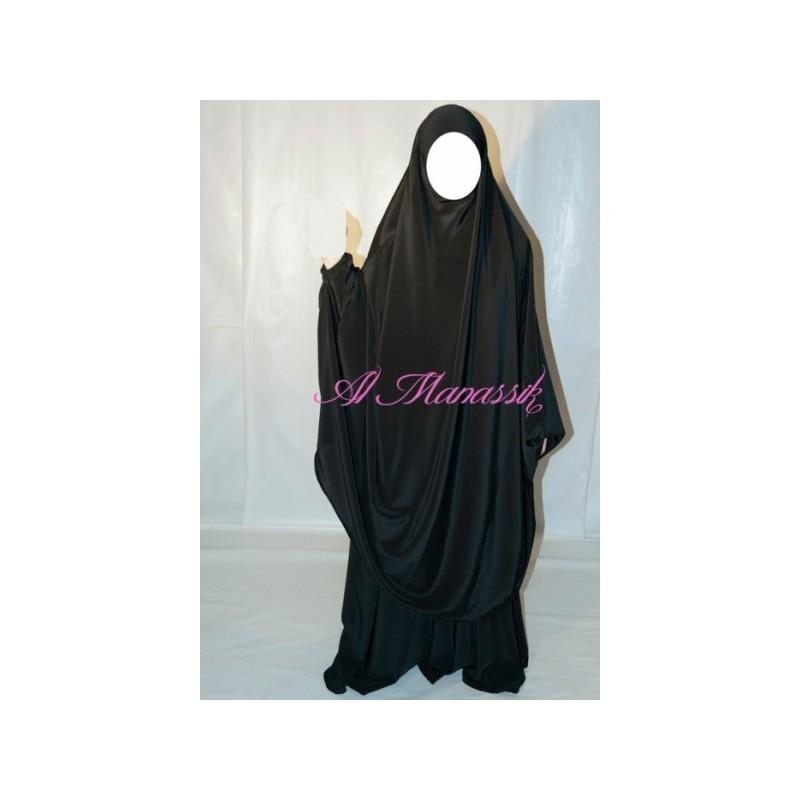 Jilbab Al Manassik - Noir