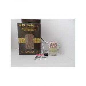 """El Nabil - Parfum pour voiture """" Vanilla """""""