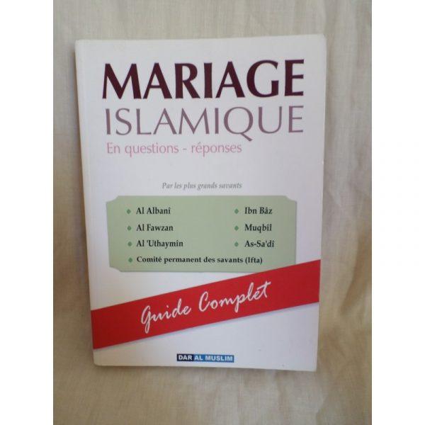 Mariage islamique - questions réponses -