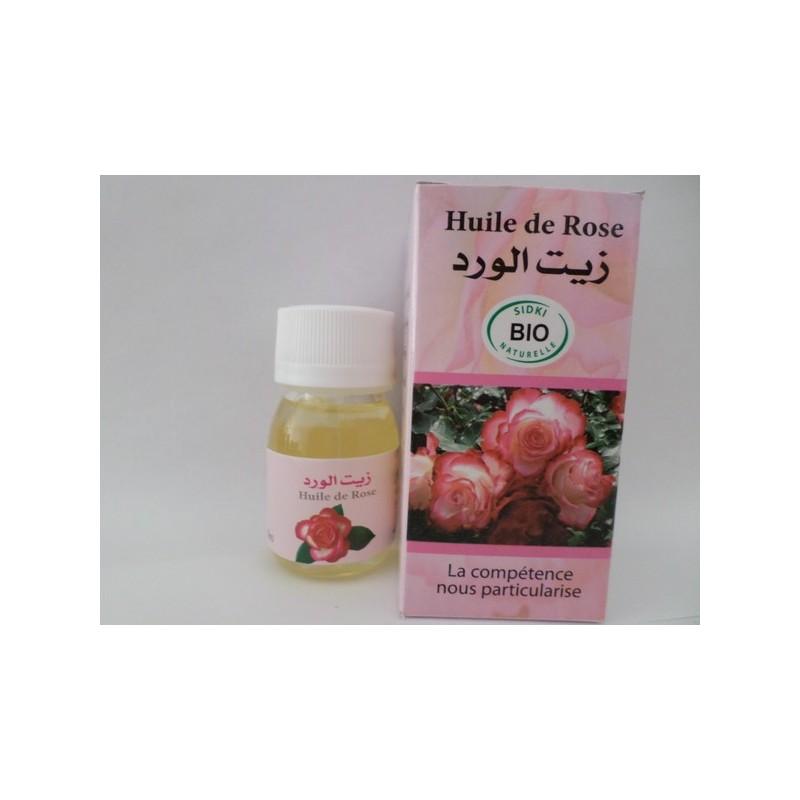 Huile de rose – Sidki Bio naturelle