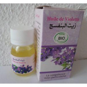 Huile de violette – Sidki Bio Naturelle