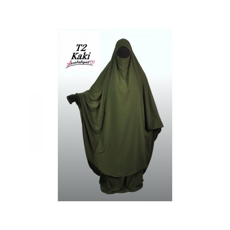Jilbeb 2 pièces Vert kaki - As Salafiyat