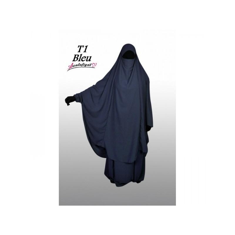 Jilbeb 2 pièces Bleu nuit - As Salafiyat