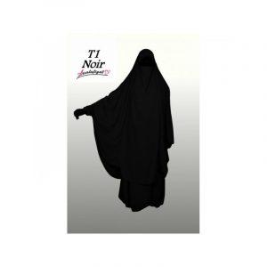 Jilbeb 2 pièces Noir - As Salafiyat