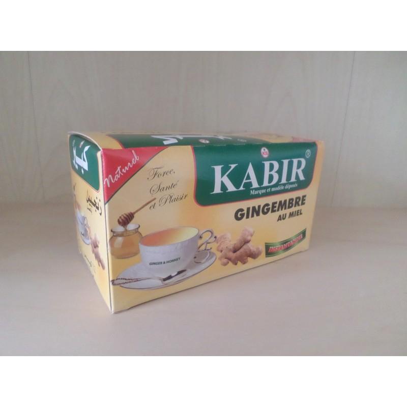 Thé au gingembre et au miel - Kabir