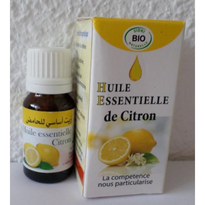 Huile essentielle (HE) de citron -