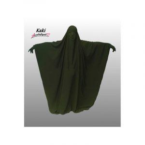 Jilbeb saoudien 1 pièce vert kaki - As Salafiyat