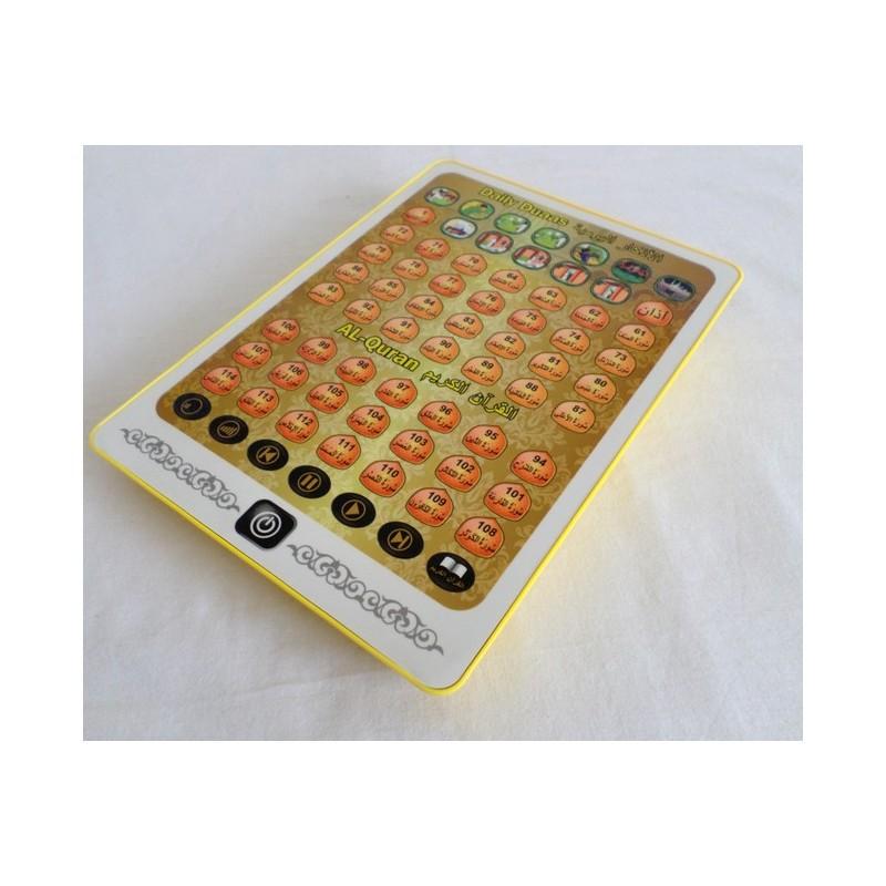 Tablette invocations quotidiennes et Quran