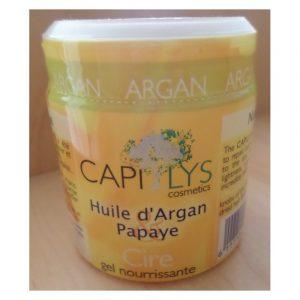 Cire-gel nourrissante à l'argan soin cheveux/barbe - Capilys