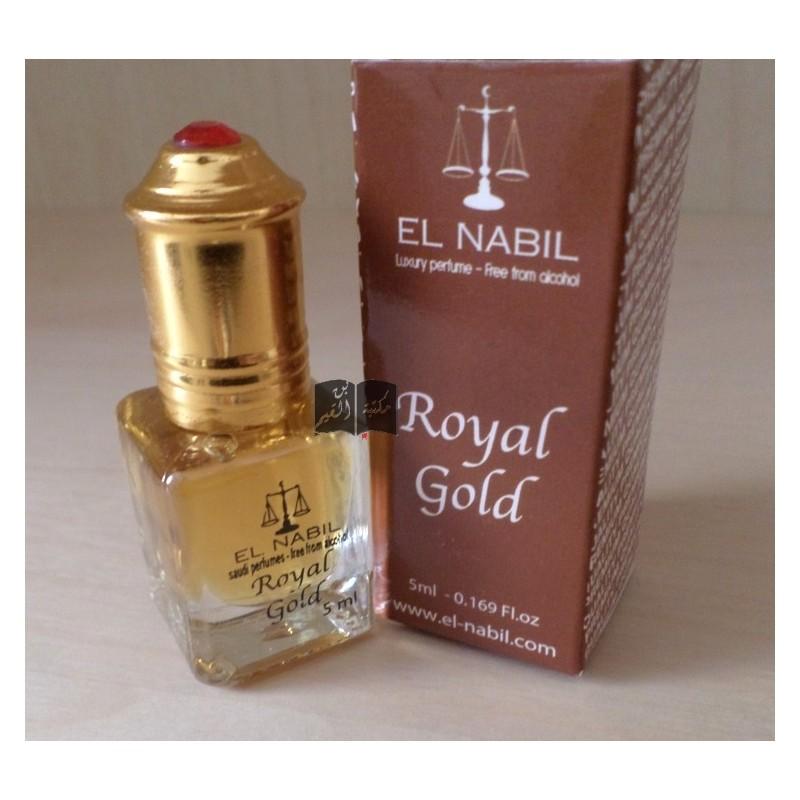 Musc Royal gold 5 mL - El Nabil