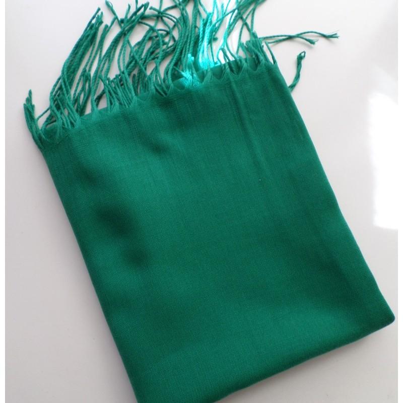Pashmina turc - Vert émeraude