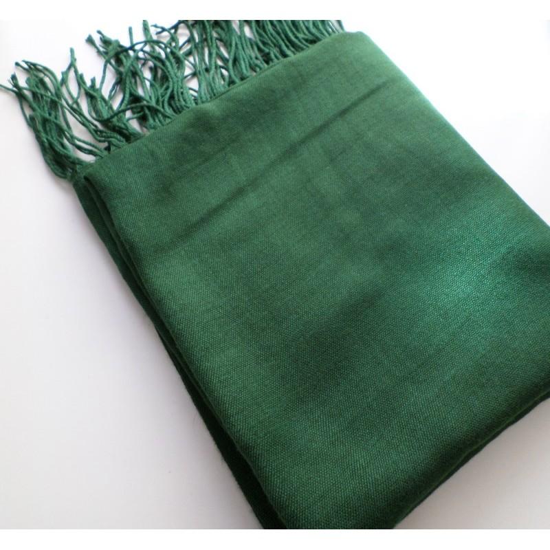 Pashmina turc - Vert sapin