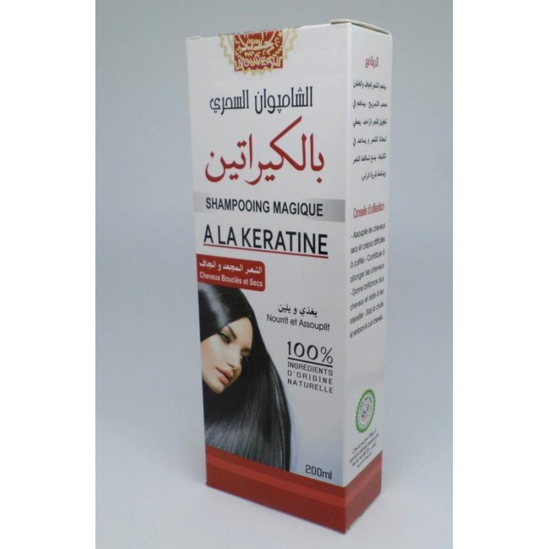Shampooing magique à la kératine - cheveux bouclés et secs