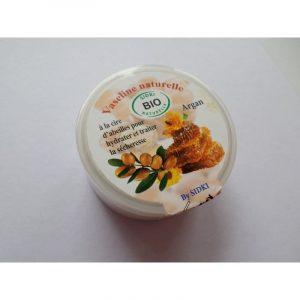 Vaseline naturelle à la cire d'abeille et à la lavande
