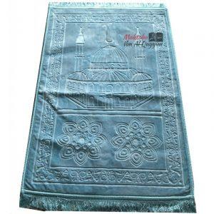 Tapis de prière Nasir turquoise - ultraconfort