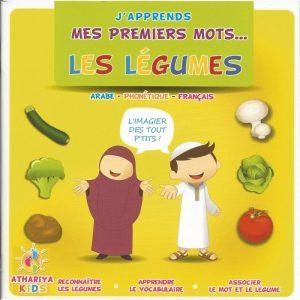 J'apprends mes premiers mots - Les légumes