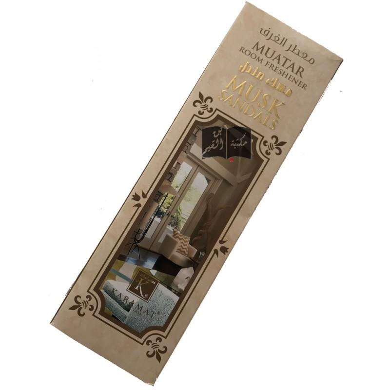 Désodorisant d'intérieur - Room freshener Musk Sandals - Karamat