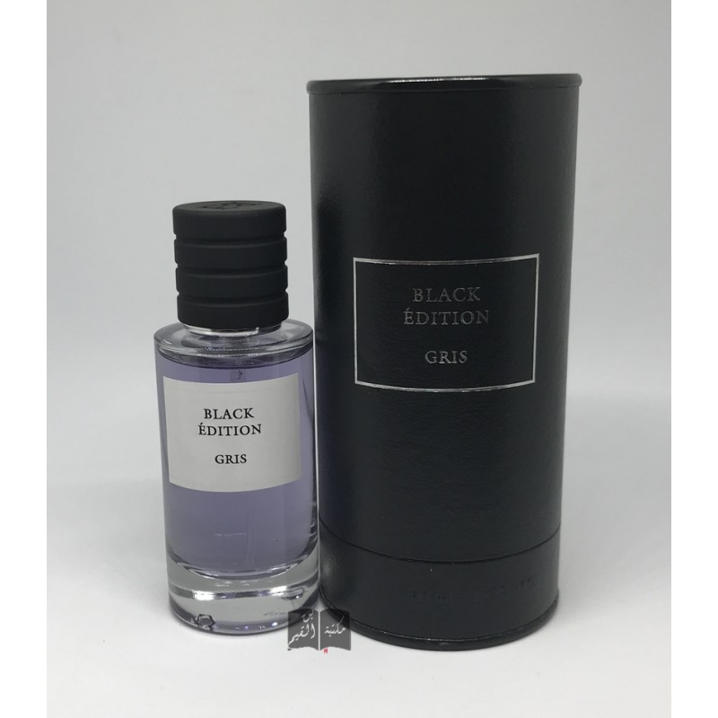 Parfum gris 50 mL - Black Edition