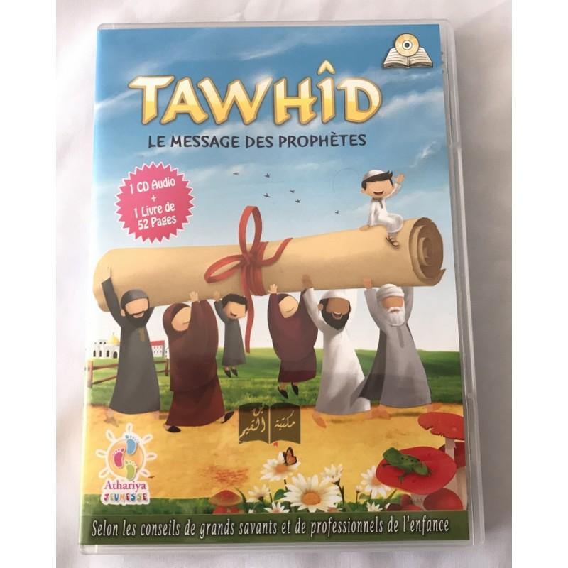 CD audio + livret Tawhid le message des prophètes - Athariya Jeunesse