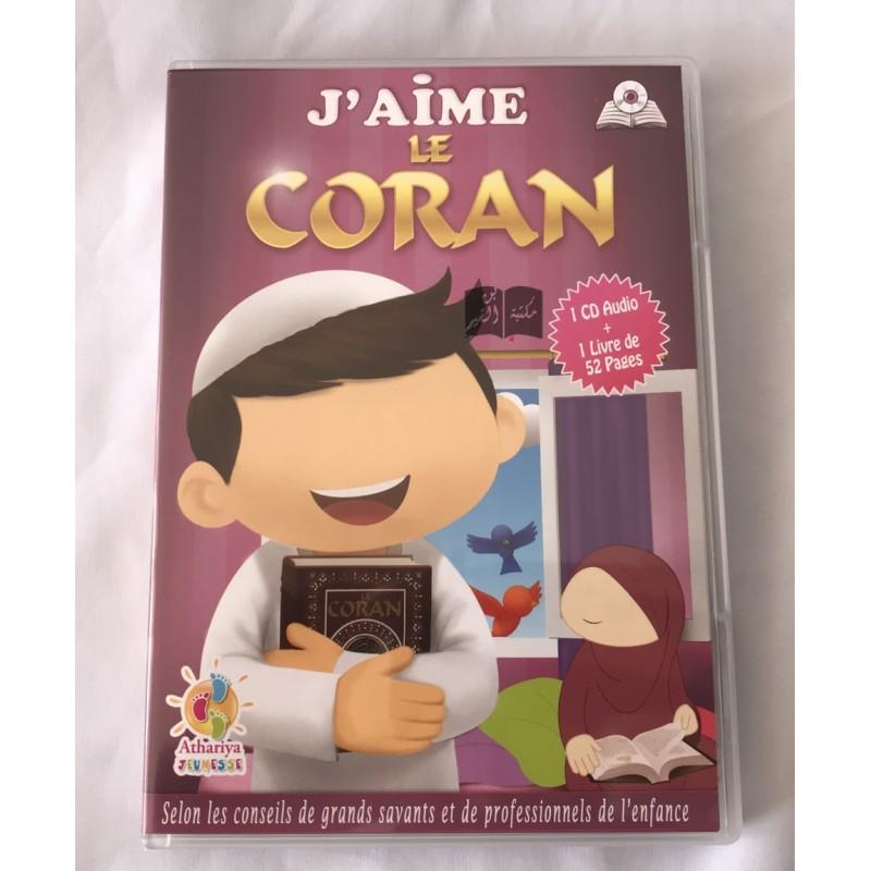 CD audio + livret J'aime le coran - Athariya Jeunesse