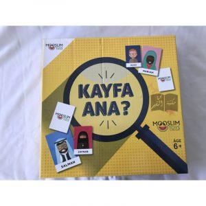 Jeu de société Kayfa Ana?