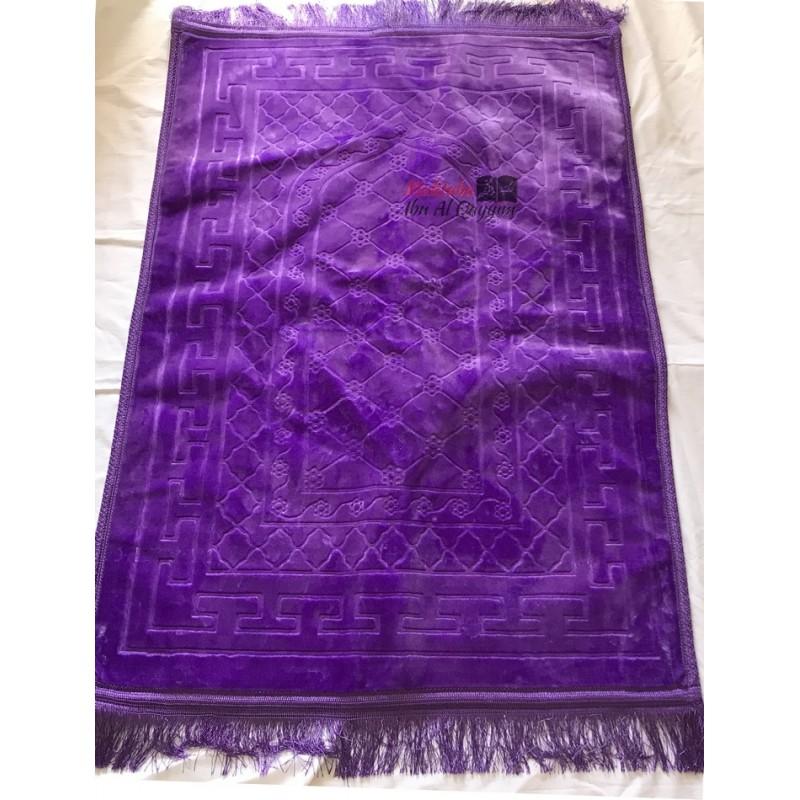 Tapis de prière Nasir indigo- ultraconfort + 1 boussole offerte