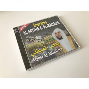 2CD Coran sourate al fatiha et al baqara par Maher Al Muaiqly - CD MP3
