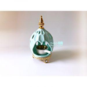 Bakhoor céramique Alma - Bleu givré